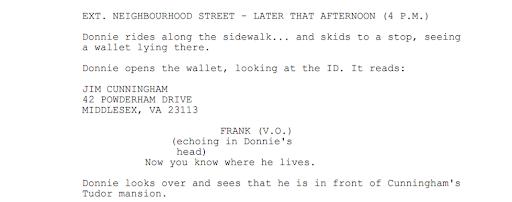 Donnie Darko Script