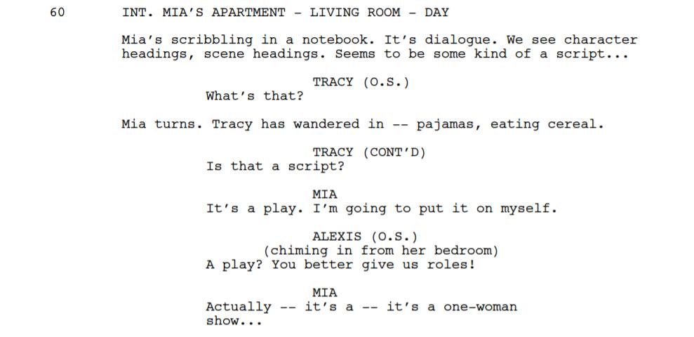 Screenwriting O.S